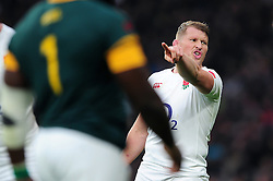 Dylan Hartley of England - Mandatory byline: Patrick Khachfe/JMP - 07966 386802 - 12/11/2016 - RUGBY UNION - Twickenham Stadium - London, England - England v South Africa - Old Mutual Wealth Series.
