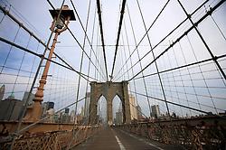USA NEW YORK 6JUN10 - Brooklyn Bridge in New York...jre/Photo by Jiri Rezac..© Jiri Rezac 2010