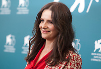 Juliette Binoche at the photocall for the film The Truth (La Vérité) at the 76th Venice Film Festival, on Wednesday 28th August 2019, Venice Lido, Italy.