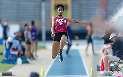 2018 NC Central Track (Aggie Invitational) Day 2 \ www.nccueaglepride.com - Photo by: Kevin L. Dorsey
