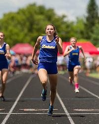 Maine State Track & Field Meet, Class B: girls 100 meter dash, Kate Hall, Lake Region, state record
