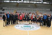 Roseto degli Abruzzi, 19/05/2008<br /> Basket, Ritiro Nazionale Italiana Maschile<br /> Nella foto: team italia staff<br /> Foto Ciamillo