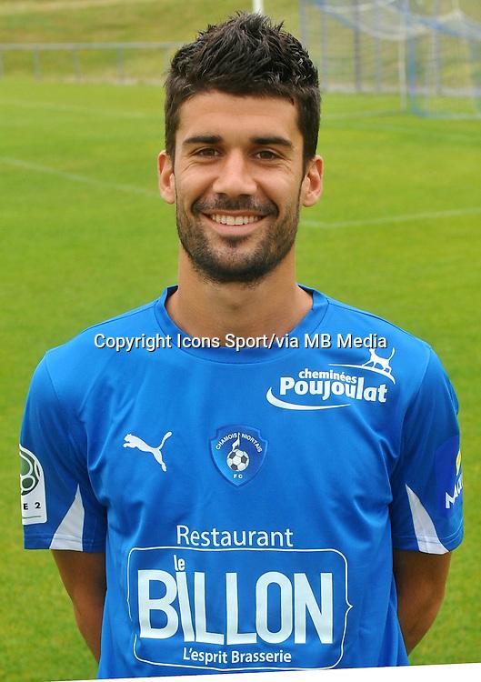 Quentin BERNARD - 26.10.2013 - Photo Officielle - Niort -<br /> Photo : Icon Sport