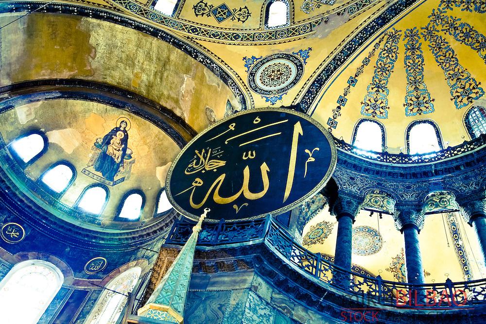 Hagia Sophia or Ayasofya.<br /> Istanbul, Turkey.