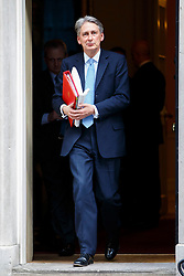 © Licensed to London News Pictures. 24/02/2015. LONDON, UK. Foreign Secretary Philip Hammond attending to a cabinet meeting in Downing Street on Tuesday, 24 February 2015. Photo credit: Tolga Akmen/LNP
