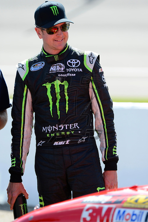 Brooklyn, MI  - Aug 17, 2012: Kurt Busch (51) stands on pit row during qualifying for the Pure Michigan 400 at Michigan International Speedway in Brooklyn, MI.