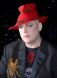 Photo by: Mark Larner / Retna Pictures. Picture shows Boy George at Here & Now Tour photocall. London, 16th October 2008.