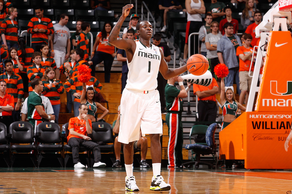 2011 Miami Hurricanes Men's Basketball vs Maryland