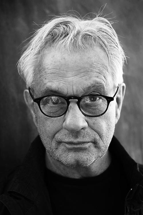 Portrait of swedish photographer Anders Petersen
