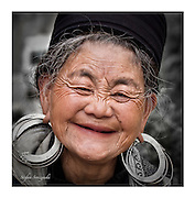 I met this beautiful person on a trip to Sapa Vietnam. Her deeply etched face tells the story of a life of hardship, yet with the warmest smile I think I've ever seen.