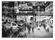 Mandalay has the bustle of commerce not seen elsewhere in the country because the trade route from Yunnan, China terminates in the city, Burma (Myanmar).  China is the main political and economic ally of this isolated military regime.