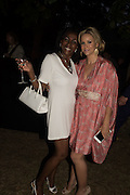 TERESA ROBERTS;; MARIE GUERLAIN, Serpentine's Summer party co-hosted with Christopher Kane. 15th Serpentine Pavilion designed by Spanish architects Selgascano. Kensington Gardens. London. 2 July 2015.