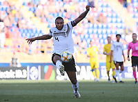 FUSSBALL UEFA U21-EUROPAMEISTERSCHAFT Halbfinale 2019  in Italien  Deutschland - Rumaenien    27.06.2019 Jonathan Tah (Deutschland) am Ball