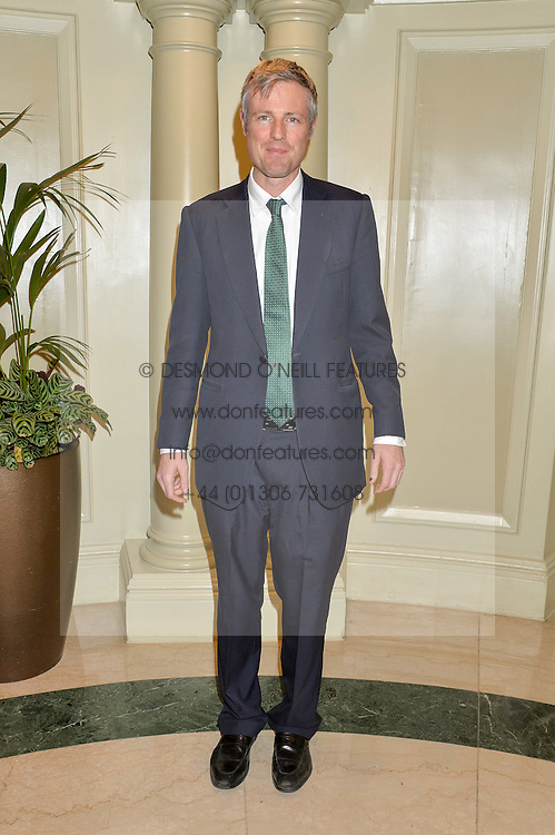 ZAC GOLDSMITH at the 6th annual Asian Awards held at The Grosvenor House Hotel, Park Lane, London on 8th April 2016.