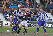 John Baird misses a chance - Kilmarnock v Dundee - Clydesdale Bank Scottish Premier League at Rugby Park. - © David Young - www.davidyoungphoto.co.uk - email: davidyoungphoto@gmail.com