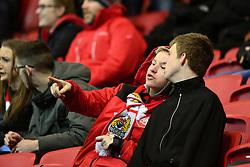 Bristol City fan - Mandatory by-line: Dougie Allward/JMP - 22/02/2017 - FOOTBALL - Ashton Gate - Bristol, England - Bristol City v Fulham - Sky Bet Championship
