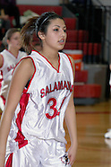 Basketball 2010 Girls Salamanca vs Portville JV