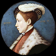 Hans Holbein, Portrait of English King Edward VI, 1543 Metropolitan Museum of Art, New York
