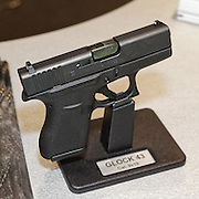 20150916-Glock hand guns at DSEI Exhibition
