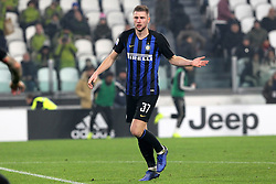 December 7, 2018 - Milan, Piedmont, Italy - Milan Skriniar (FC Internazionale) during the Serie A football match between Juventus FC and FC Internazionale at Allianz Stadium on December 07, 2018 in Turin, Italy..Juventus won 1-0 over Internazionale. (Credit Image: © Massimiliano Ferraro/NurPhoto via ZUMA Press)