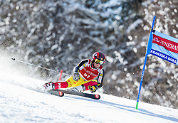 Morgan Megarry (CAN) competes during 9th Men's Giant Slalom race of FIS Alpine Ski World Cup 55th Vitranc Cup 2016, on March 4, 2016 in Kranjska Gora, Slovenia. Photo by Vid Ponikvar / Sportida