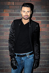 © Licensed to London News Pictures . 13/11/2013 . Merseyway Shopping Centre , Stockport , UK . RYLAN CLARK poses before going on stage . Stage acts perform ahead of the Merseyway Shopping Centre turning on their Christmas lights . Photo credit : Joel Goodman/LNP