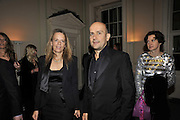 LADY GEORGINA BYNG; MARC QUINN, Nicky Haslam party for Janet de Bottona nd to celebrate 25 years of his Design Company.  Parkstead House. Roehampton. London. 16 October 2008.  *** Local Caption *** -DO NOT ARCHIVE-© Copyright Photograph by Dafydd Jones. 248 Clapham Rd. London SW9 0PZ. Tel 0207 820 0771. www.dafjones.com.