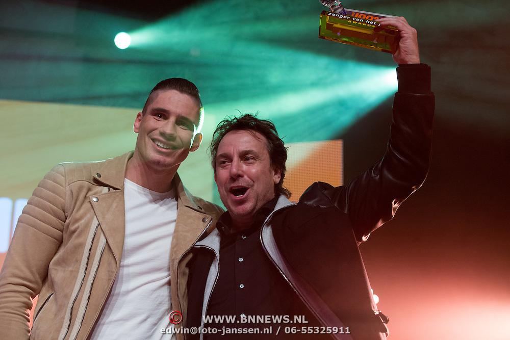 NLD/Uitgeest/20170207 - Uitreiking 100% NL Awards 2016, Marco Borsato en Rico Verhoeven