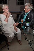 DAME JUDY DENCH AND  SIR IAN MCKELLEN. These Foolish Things, charity evening hosted by Sir Richard and Lady Rogers. Chelsea. London. 7 May 2008.  *** Local Caption *** -DO NOT ARCHIVE-© Copyright Photograph by Dafydd Jones. 248 Clapham Rd. London SW9 0PZ. Tel 0207 820 0771. www.dafjones.com.