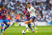 Tottenham Hotspur midfielder Erik Lamela (11) during the Premier League match between Tottenham Hotspur and Crystal Palace at Tottenham Hotspur Stadium, London, United Kingdom on 14 September 2019.