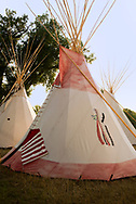 Tipi, Crow Fair, Jim Real Bird Camp, Crow Indian Reservation, Montana