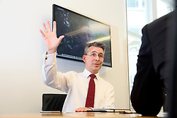 UK ENGLAND LONDON 17MAY17 - Miles Celic, CEO of CityUK during an interview at his London headquarters.<br /> <br /> jre/Photo by Jiri Rezac<br /> <br /> © Jiri Rezac 2017