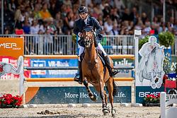 REINACHER Julius (GER), Contagia 2<br /> Münster - Turnier der Sieger 2019<br /> Preis der PROVINZIAL VERSICHERUNG<br /> Junioren-Förderpreis 2019<br /> 03. August 2019<br /> © www.sportfotos-lafrentz.de/Stefan Lafrentz