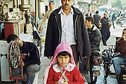 street scene near the market in Sanliurfa