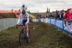 MEIN Thomas (GBR) during Men Under 23 race, 2020 UCI Cyclo-cross Worlds Dübendorf, Switzerland, 1 February 2020. Photo by Pim Nijland / Peloton Photos | All photos usage must carry mandatory copyright credit (Peloton Photos | Pim Nijland)