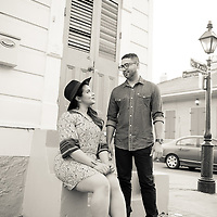 Charly & Tammie Engagement Photo Album, French Quarter, New Orleans Wedding Photography - 1216 Studio