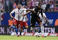 v.l. Julian Green, Jerome Boateng (Bayern)<br /> Fussball Bundesliga, Hamburger SV - FC Bayern München<br /> Norway only