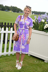 HANNELI RUPERT at the 2013 Cartier Queens Cup Polo at Guards Polo Club, Berkshire on 16th June 2013.
