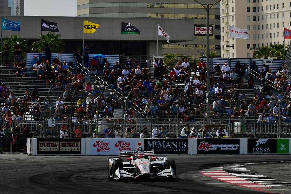 Will Power, Team Penske Chevrolet<br /> Sunday 15 April 2018<br /> Toyota Grand Prix of Long Beach<br /> Verizon IndyCar Series<br /> Streets of Long Beach, California USA<br /> World Copyright: Scott R LePage<br /> LAT Images