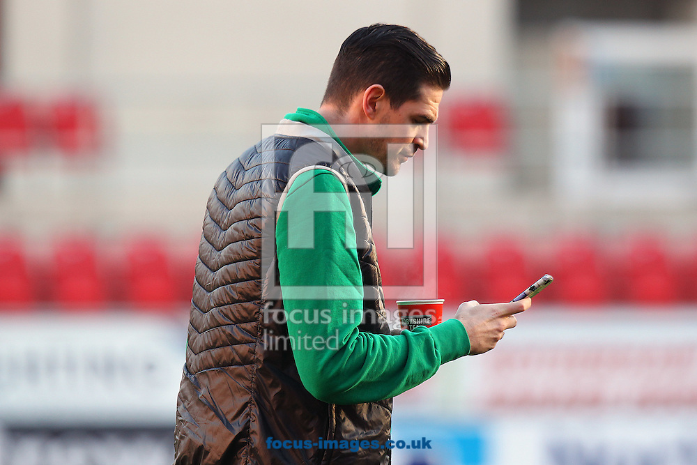 Kyle Lafferty of Norwich before the Sky Bet Championship match at the AESSEAL New York Stadium, Rotherham<br /> Picture by Paul Chesterton/Focus Images Ltd +44 7904 640267<br /> 14/01/2017