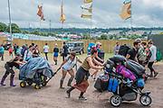 The 2017 Glastonbury Festival, Worthy Farm. Glastonbury, 25 June 2017