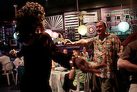 WKNpride:  CRYSTAL CITY, VA: MARAM 201799 CAPTION:  Drag Queens prepare and perform for Freddie's Follies at Freddie's in Crystal City June 01, 2008 ? Destiny B. Childs, the host of the show, hugs bar owner, Freddie Lutz.