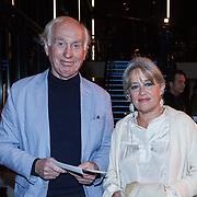 NLD/Zaandam/20131113 - Inloop premiere Nederland Musicalland, Fred Oster en partner Jennifer