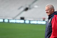 Rugby Union - 2017 British & Irish Lions Tour of New Zealand - Captains Run - <br /> <br /> Warren Gatland Head Coach of The British and Irish Lions during the Captains run at Forsyth Barr Stadium, Dunedin.<br /> <br /> COLORSPORT/LYNNE CAMERON