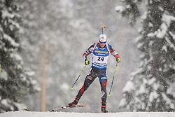 March 9, 2019 - –Stersund, Sweden - 190309 Michal Krcmar of Czech Republic competes in the Men's 10 KM sprint during the IBU World Championships Biathlon on March 9, 2019 in Östersund..Photo: Petter Arvidson / BILDBYRÃ…N / kod PA / 92252 (Credit Image: © Petter Arvidson/Bildbyran via ZUMA Press)