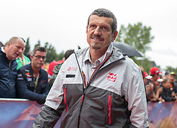 03.07.2016, Red Bull Ring, Spielberg, AUT, FIA, Formel 1, Grosser Preis von Österreich, Red Carpet, im Bild Guenther Steiner (ITA) Haas F1 Team // Guenther Steiner (ITA) Haas F1 Team during the red carpet for the Austrian Formula One Grand Prix at the Red Bull Ring in Spielberg, Austria on 2016/07/03. EXPA Pictures © 2016, PhotoCredit: EXPA/ Johann Groder