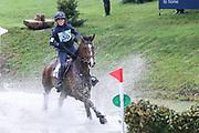 Super Cillious ridden by Vittoria Panizzon in the Equi-Trek CCI-L4* Cross Country during the Bramham International Horse Trials 2019 at Bramham Park, Bramham, United Kingdom on 8 June 2019.