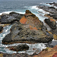 Coastal Rocks on Summerland Peninsula on Phillip Island, Australia<br />