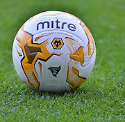 THe watch ball before  the Sky Bet Championship match between Bolton Wanderers and Wolverhampton Wanderers at the Macron Stadium, Bolton, England on 12 September 2015. Photo by Mark Pollitt.