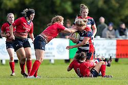 Abbie Parsons of Bristol Ladies - Rogan Thomson/JMP - 16/10/2016 - RUGBY UNION - Cleve RFC - Bristol, England - Bristol Ladies Rugby v Lichfield Ladies - RFU Women's Premiership.